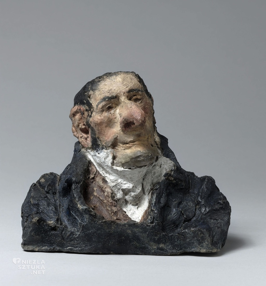 Honoré Daumier, Baron Apollinaire, figurka, satyra, Niezła Sztuka