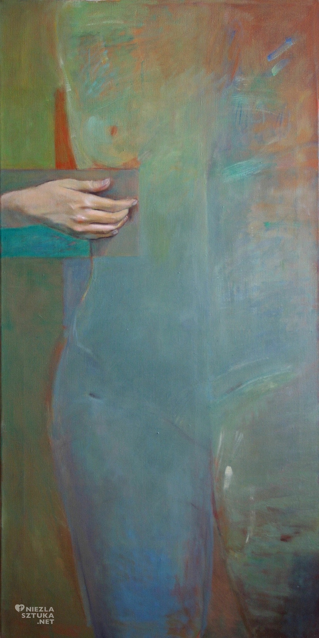 Figura zielona | 2004