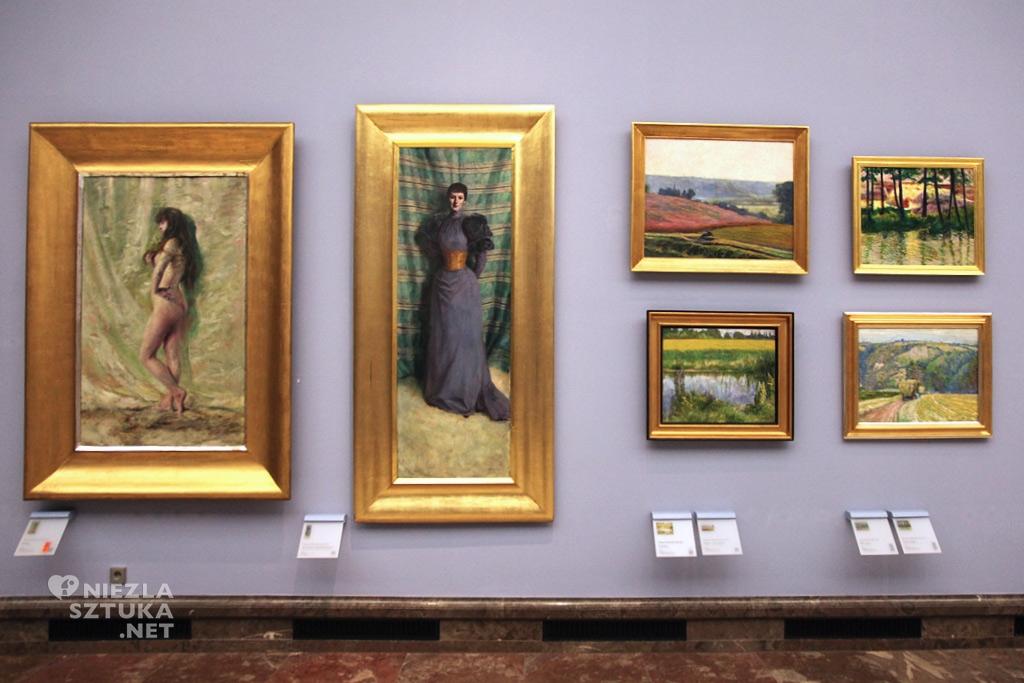 Obraz <em>Konwalia</em> w Muzeum Narodowym w Krakowie, fot. Leszek Lubicki
