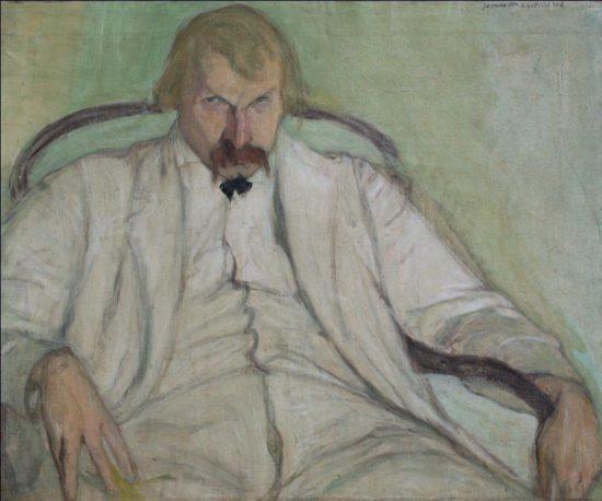 Leopold Gottlieb Portret Xawerego Dunikowskiego