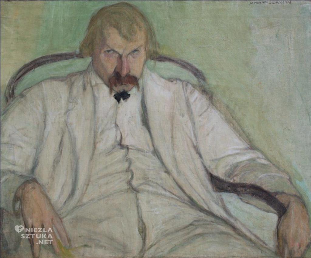 Leopold Gottlieb Portret Xawerego Dunikowskiego, 1906