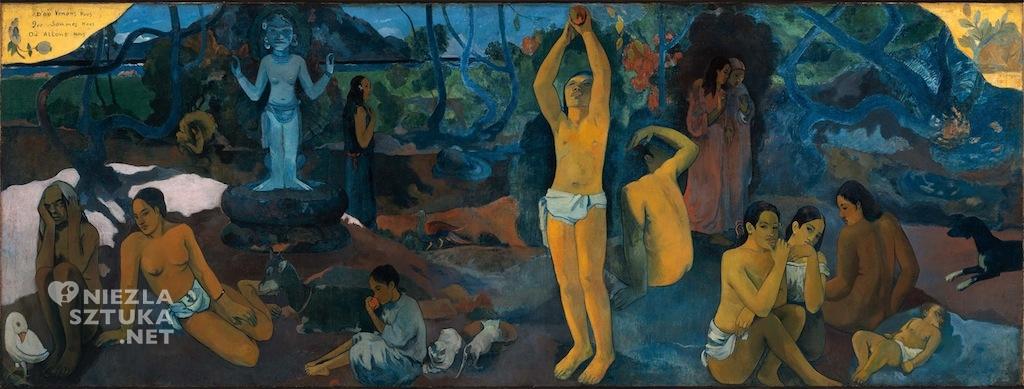 Paul Gauguin Skąd przyszliśmy? Kim jesteśmy? Dokąd idziemy? | 1897-1898, Museum of Fine Arts, Boston