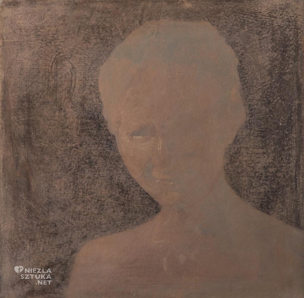 Portret czarno-rozowy, 2014