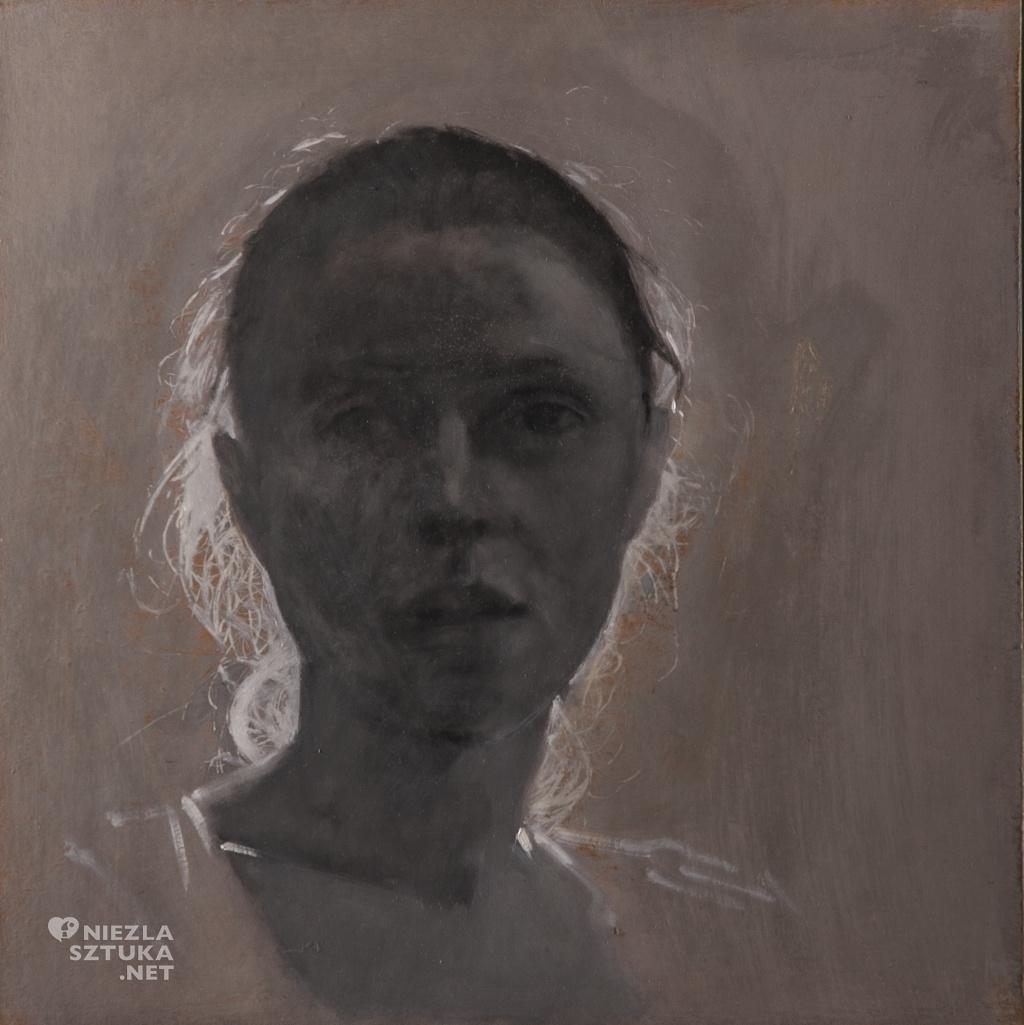 Portret szaro-zloty, 2014