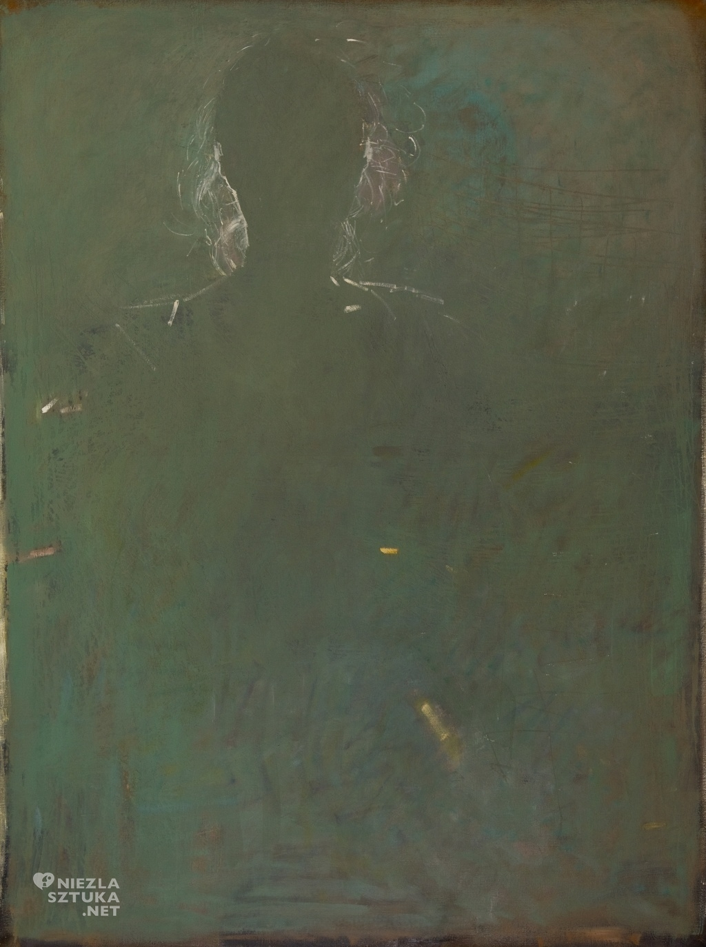 Portret zielony | 2013