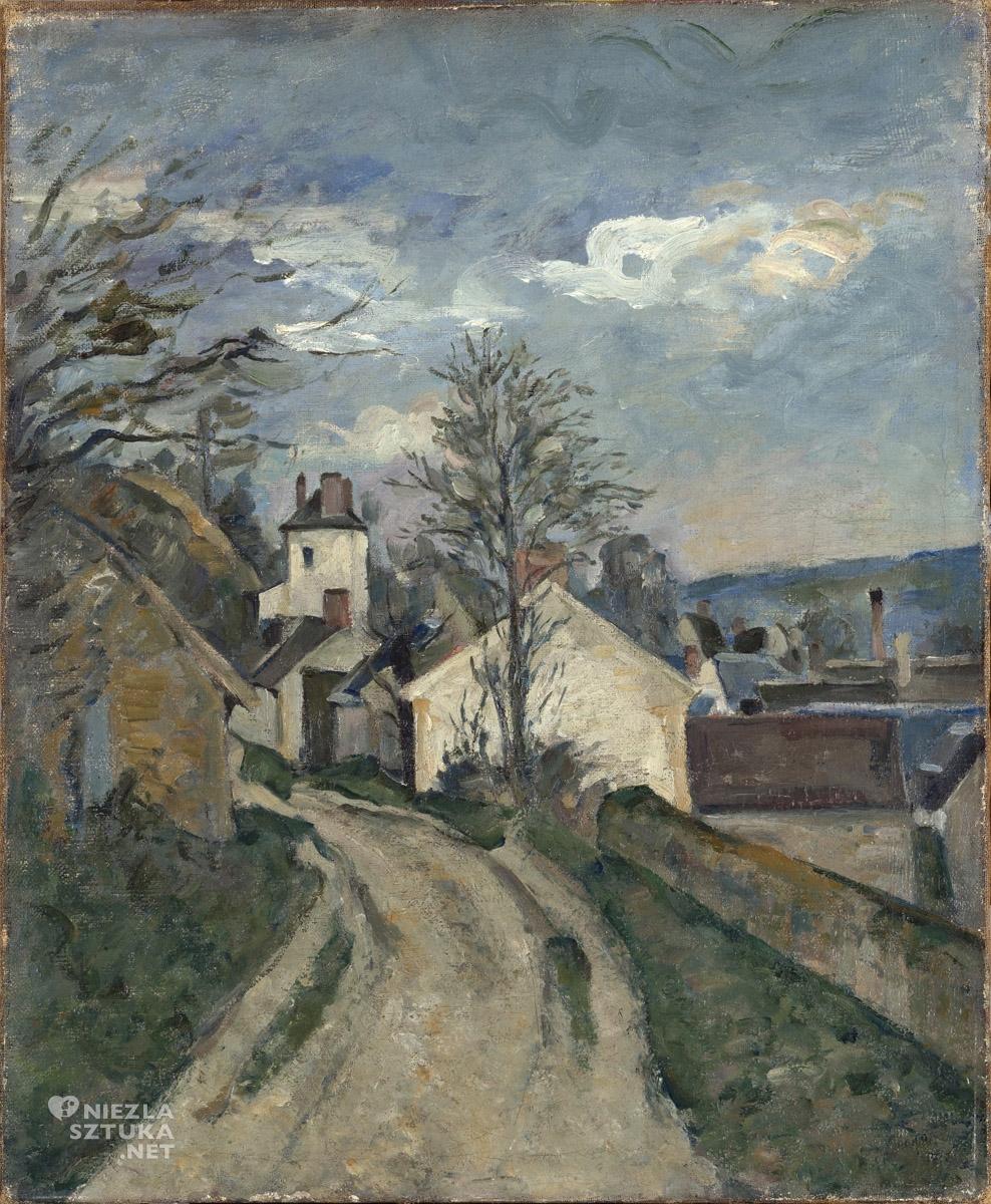 Paul Cézanne, Dom doktora Gacheta, sztuka europejska, malarstwo, Niezła Sztuka