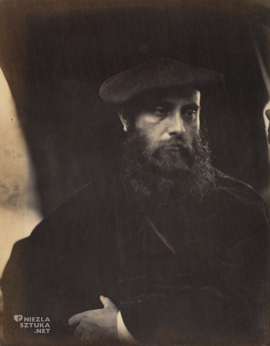 William Michael Rossetti | 1865, w obiektywie Julii Margaret Cameron, wikipedia.org