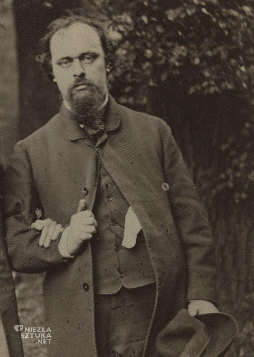 Dante Gabriel Rossetti| 1863, wikipedia.org