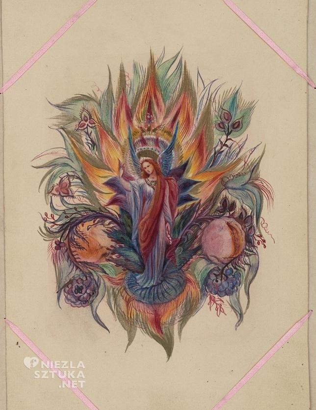"""Ilustracja Anny Mary Howitt do książki Camilli Crosland """"Światło w Dolinie'' z 1857 r."""