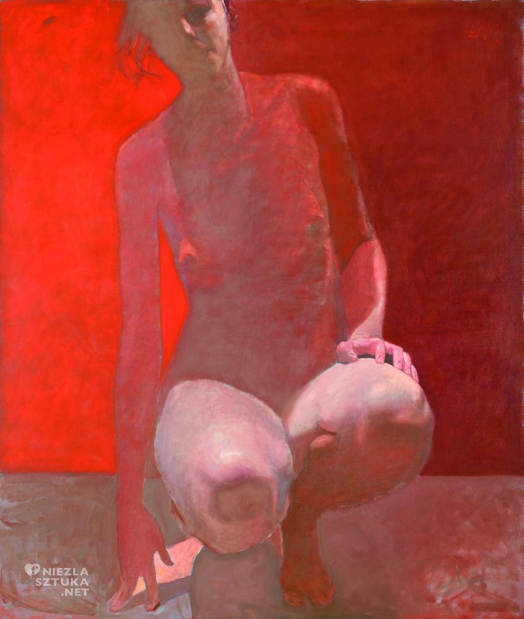 nie-wielka figura czerwona | 2008