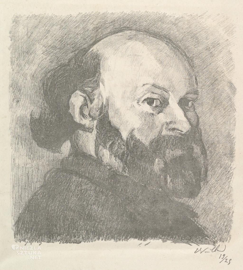 Édouard Vuillard, Paul Cézanne, portret, Niezła Sztuka