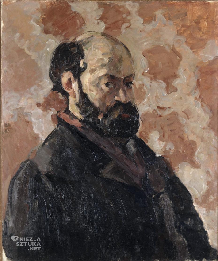 Paul Cézanne, Autoportret, malarstwo, sztuka europejska, Niezła Sztuka