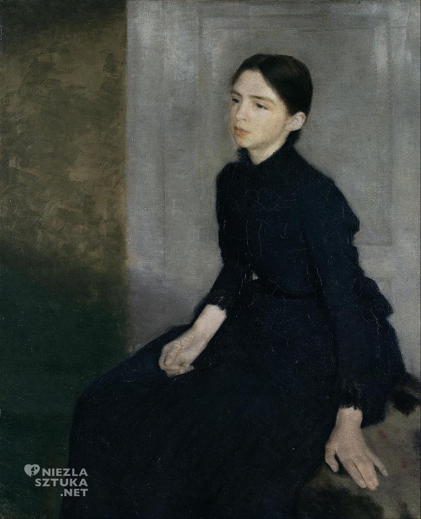 Vilhelm Hammershøi, sztuka duńska, malarz, artysta, sztuka skandynawska, niezła sztuka