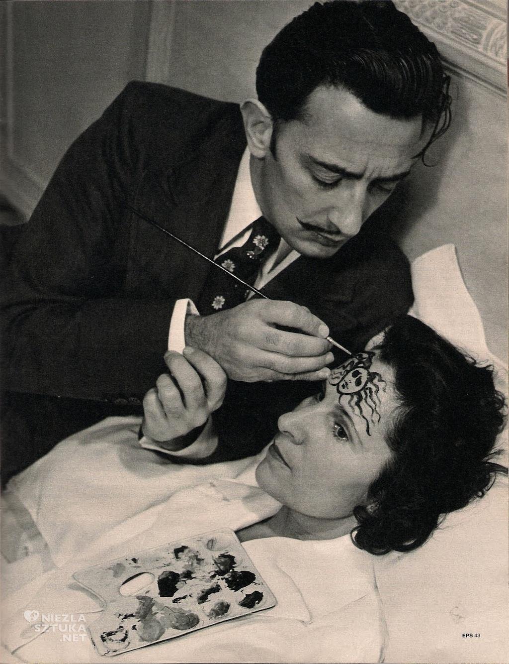 Salvador Dali, Gala Dali, surrealizm, Niezła Sztuka