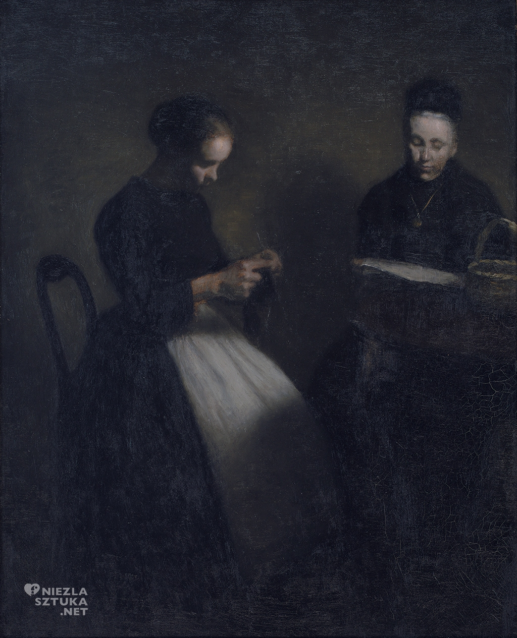 Vilhelm Hammershøi, sztuka duńska, malarz, artysta, niezła sztuka