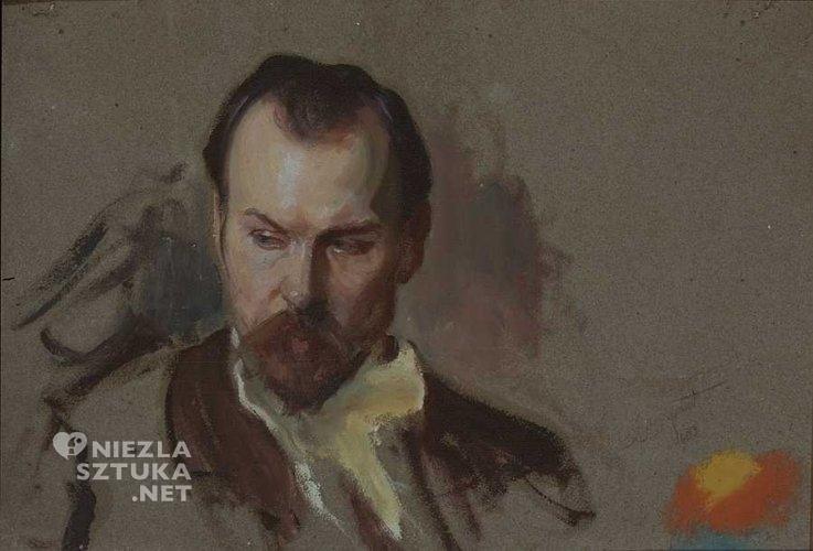 Leon Wyczółkowski Portret Konstantego Laszczki 1905