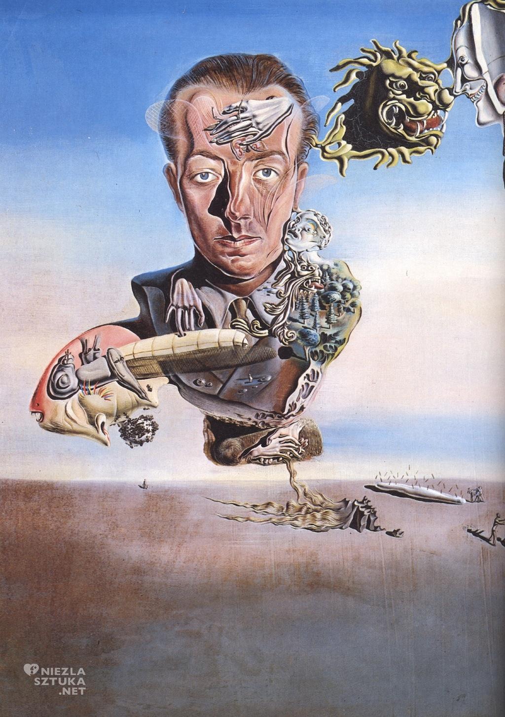 Salvador Dalí Portret Paula Eluarda