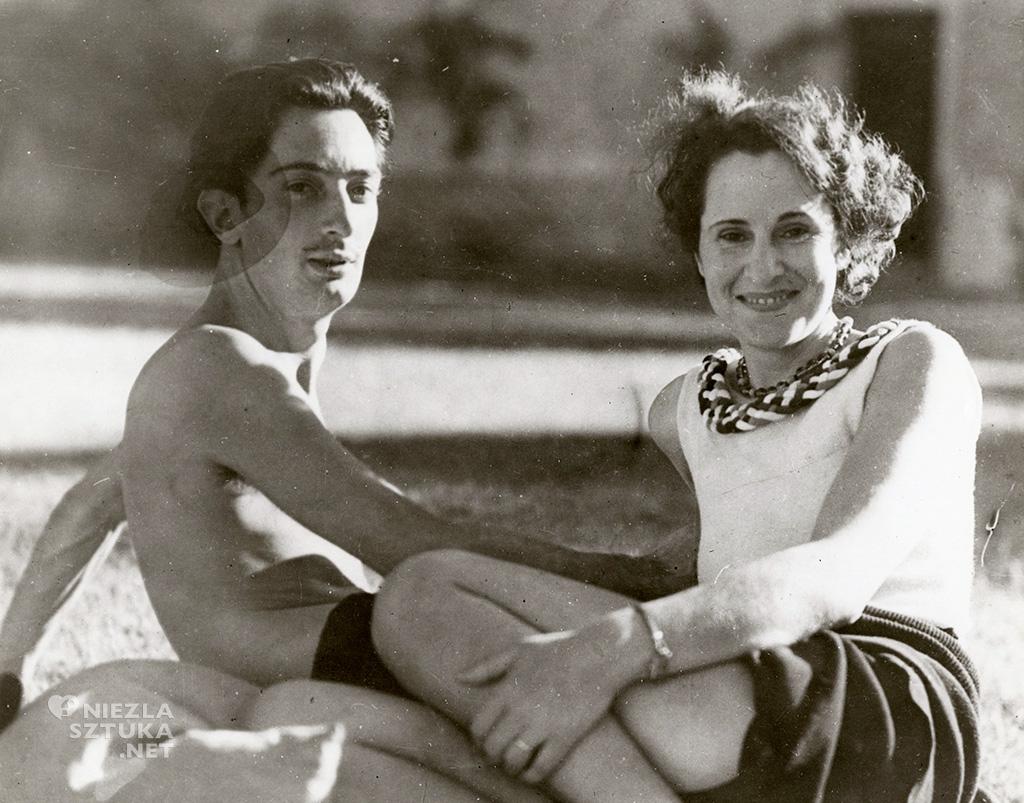 Salvador Dali, Gala, artyści, surrealizm, Niezła Sztuka