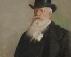Leon Wyczółkowski, Portret Ignacego hr. Korwin-Milewskiego, 1901