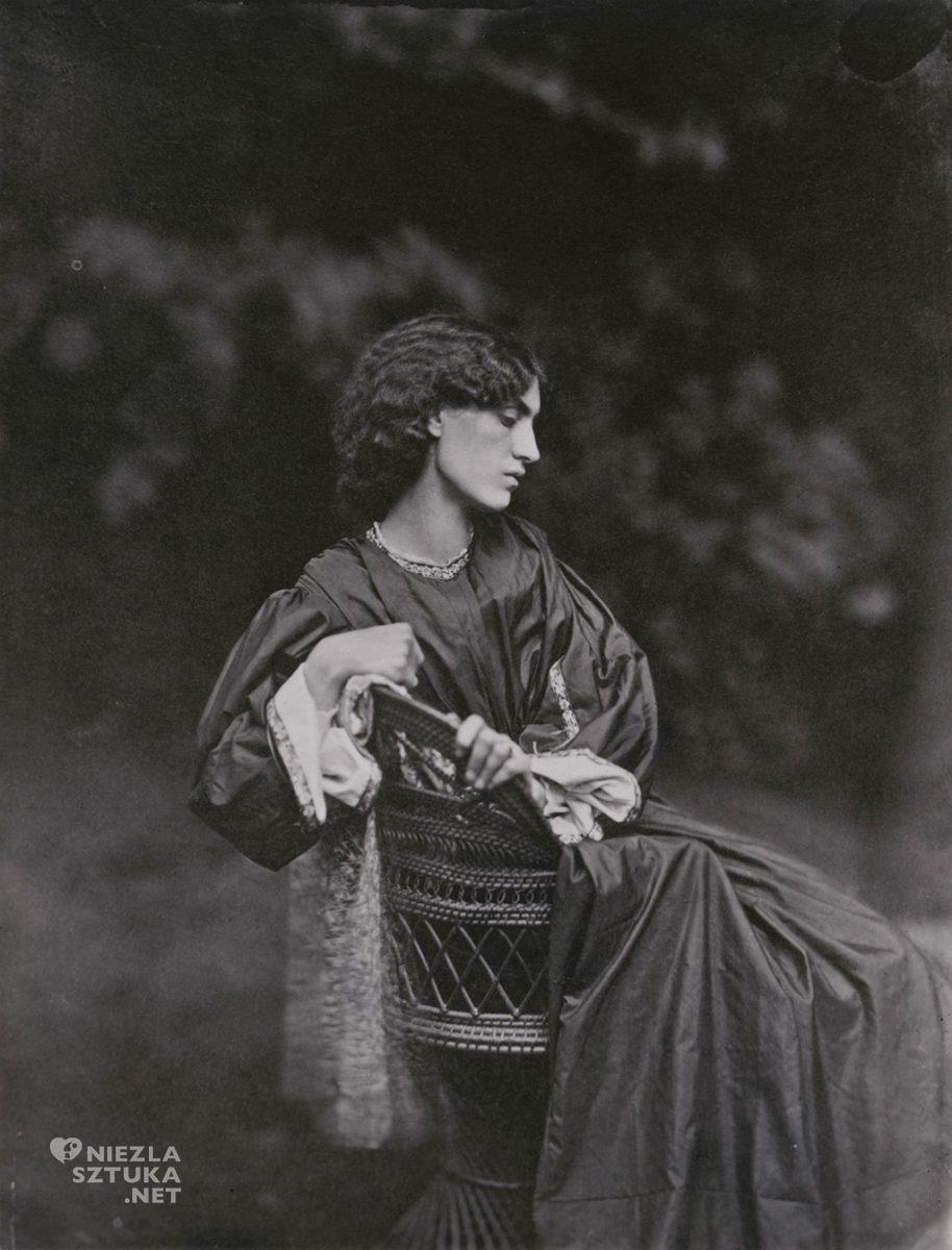 John Robert Parsons, Jane Morris, 1865, © National Portrait Gallery, Londyn, Niezła sztuka