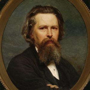 Wojciech Gerson, Portret własny,  1875, Muzeum Narodowe w Warszawie