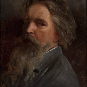 Wojciech Gerson, Portret własny,  1885, Muzeum Narodowe w Warszawie