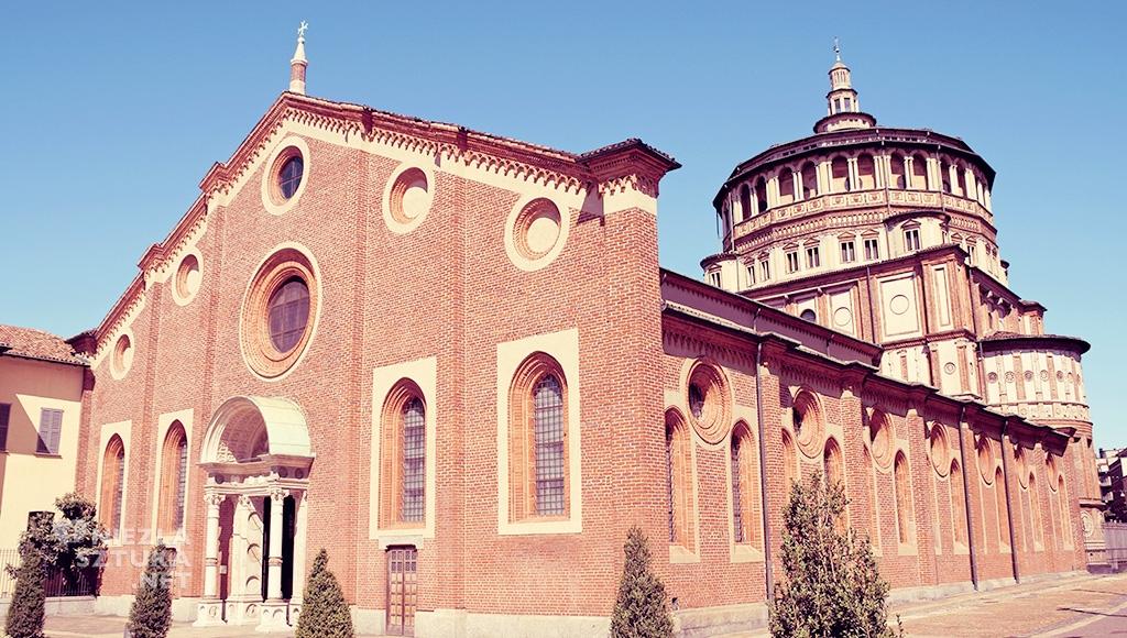 Kościół Santa Maria delle Grazie, Mediolan, fot.: wikipedia.org