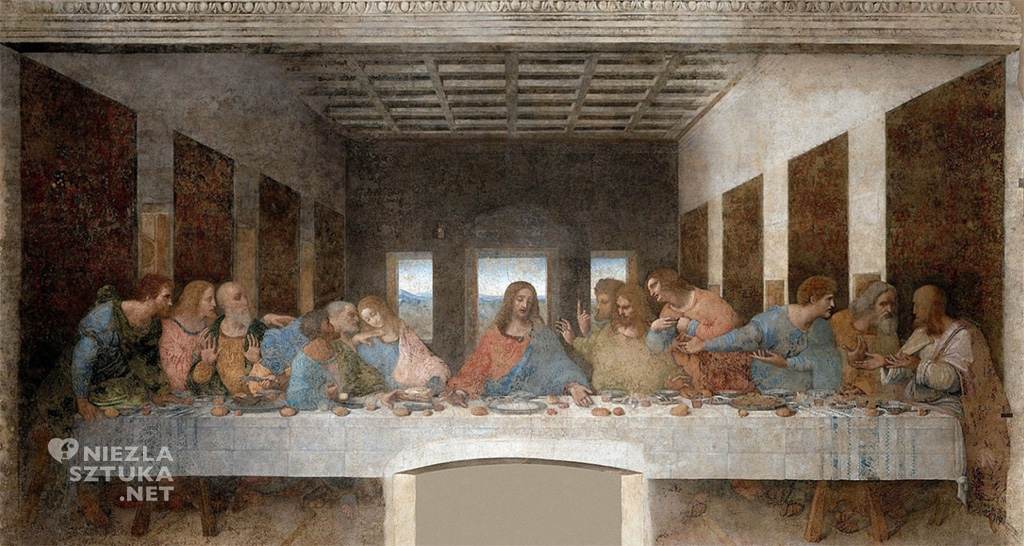 Leonardo da Vinci Ostatnia wieczerza