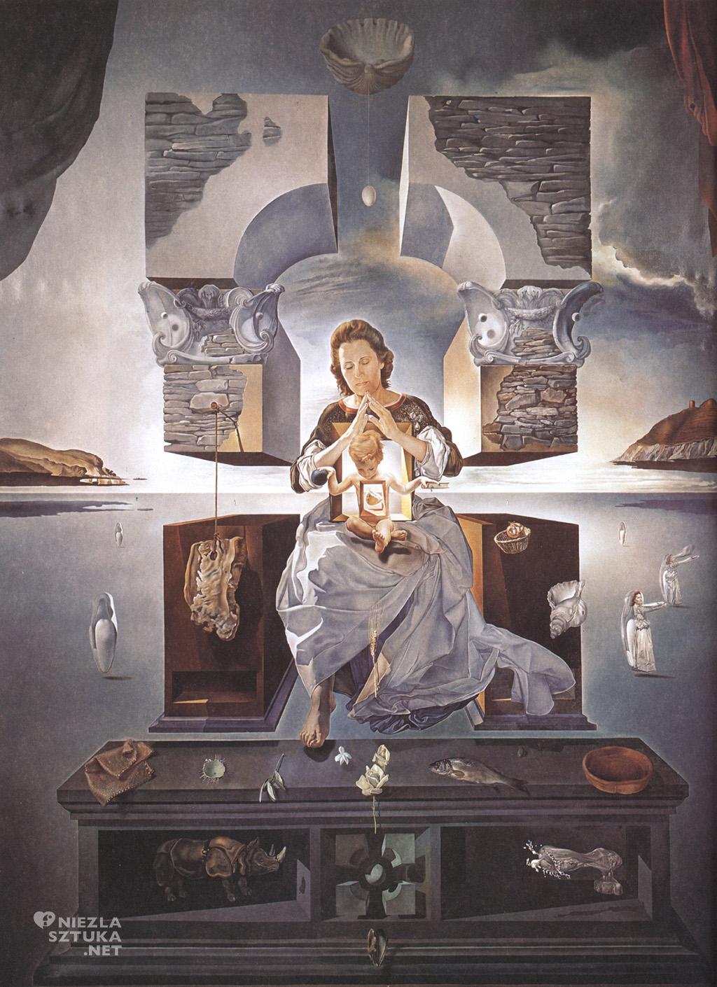 Salvador Dali, Madonna z Port Lligat, surrealizm, Niezła Sztuka