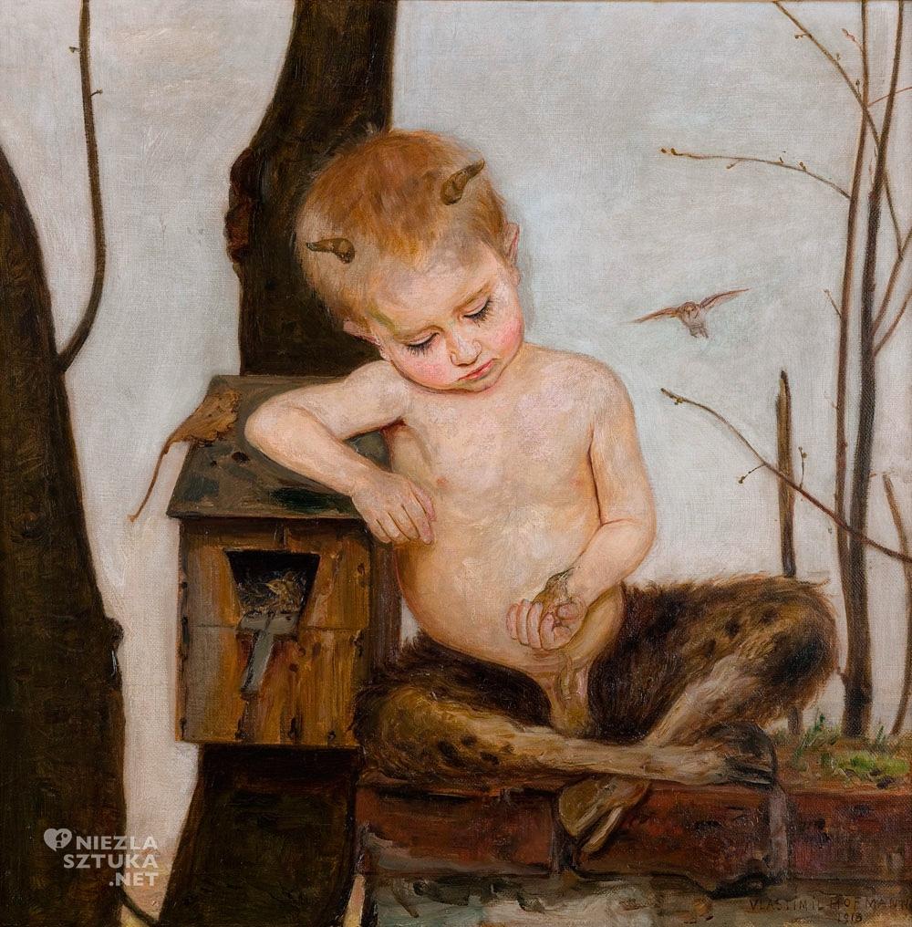 Wlastimil Hofman, Wiosna | 1918, Muzeum Narodowe w Krakowie