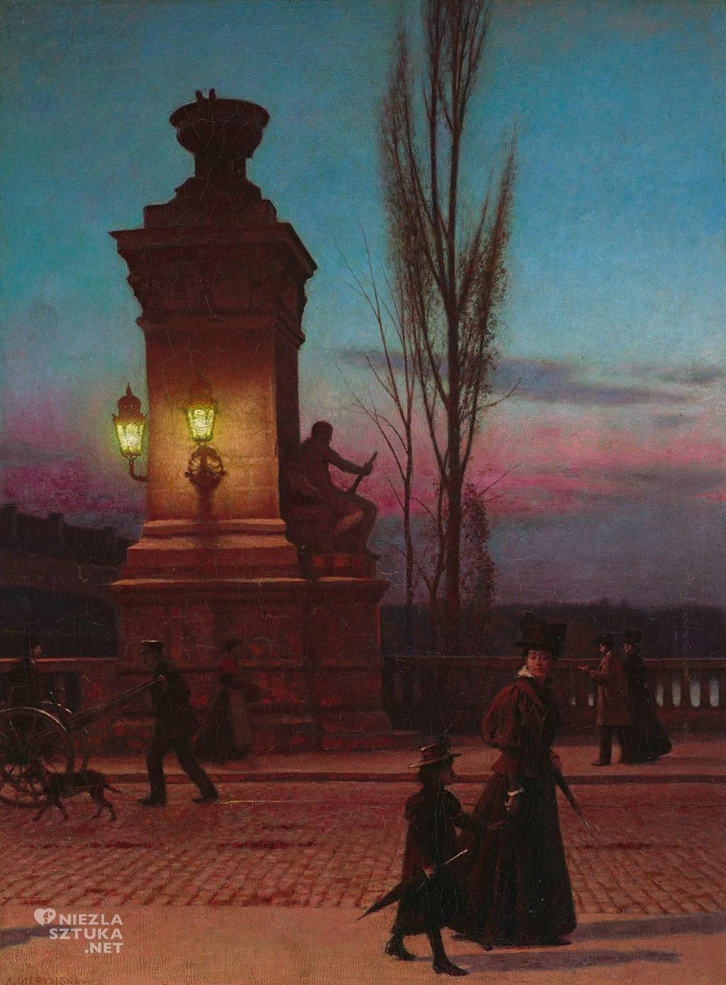 Aleksander Gierymski Most Ludwika w Monachium | 1896-1897, Muzeum Narodowe w Warszawie