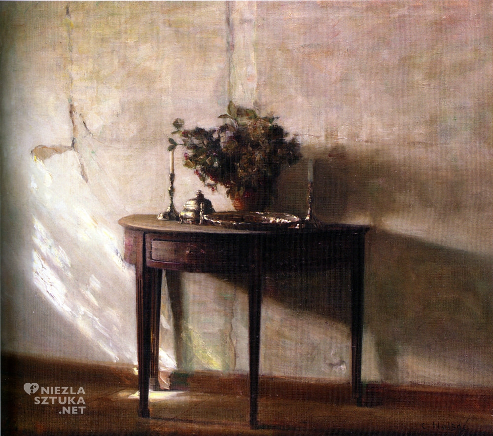 Carl Vilhelm Holsøe duński malarz