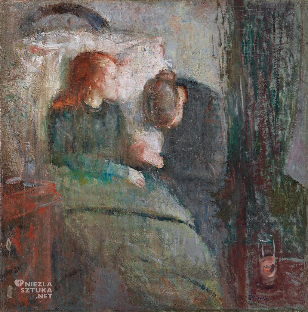 Edvard Munch Chore dziecko