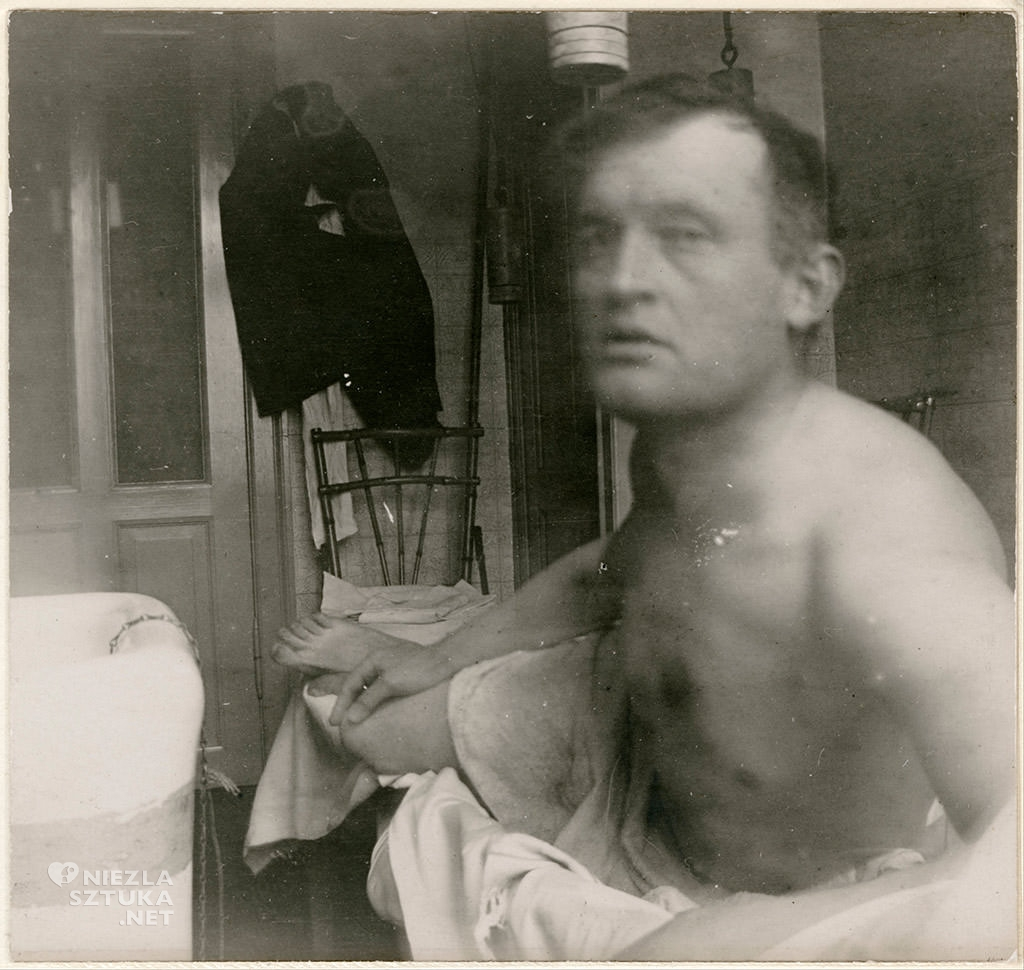 Edvard Munch Autoportret a la Marat