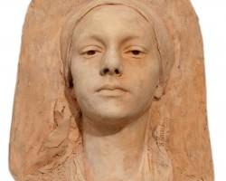 Konstanty Laszczka Głowa kobiety