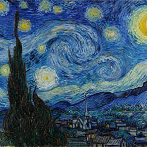 Vincent van Gogh, Gwiaździsta noc, ekspresjonizm, Niezła Sztuka