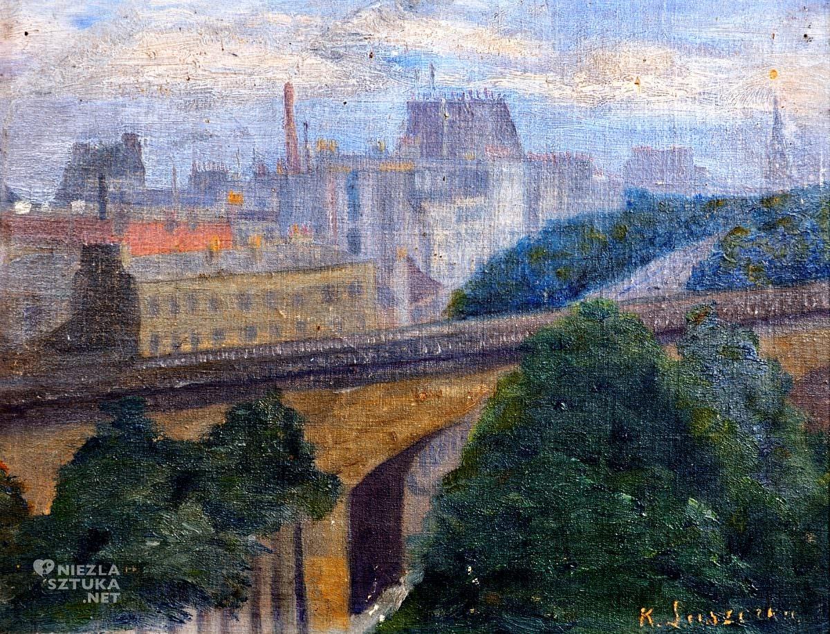Konstanty Laszczka Widok Paryża