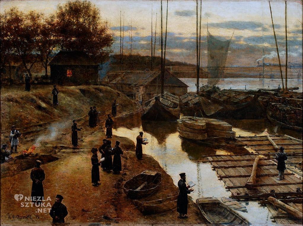 Aleksander Gierymski, Święto trąbek, 1884, Muzeum Narodowe w Warszawie