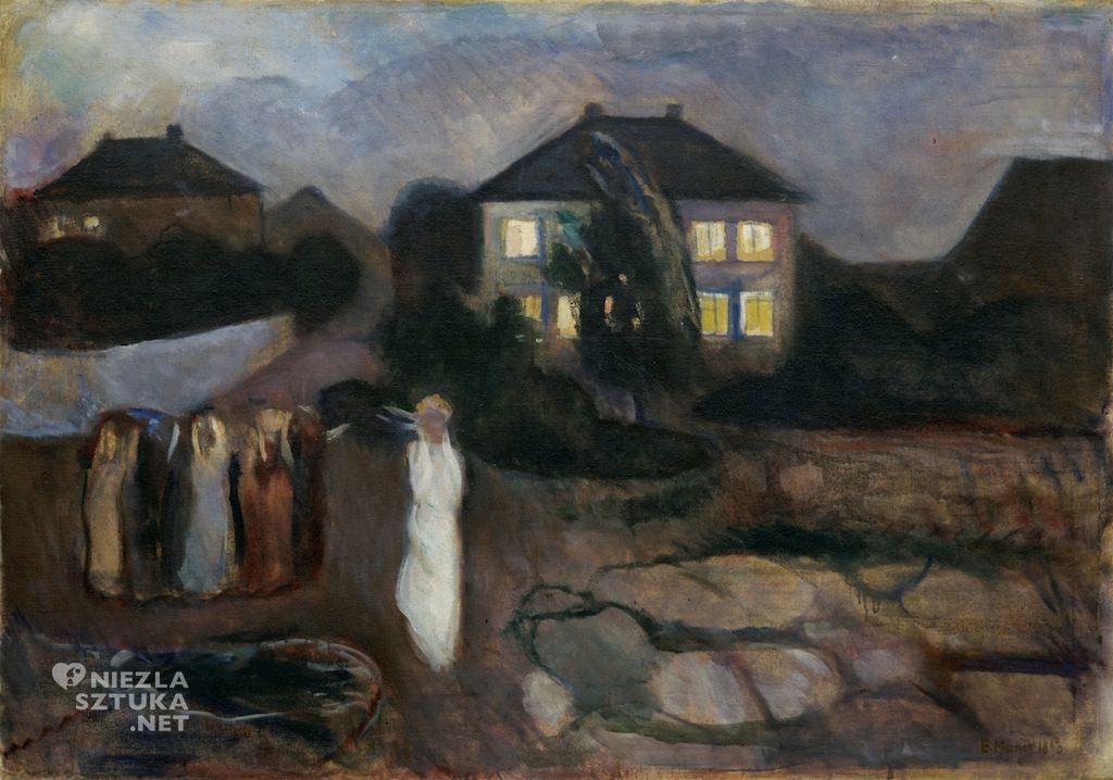 Edvard Munch Burza 1893