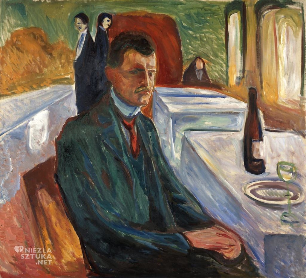 Edvard Munch, Autoportret, sztuka, niezła sztuka