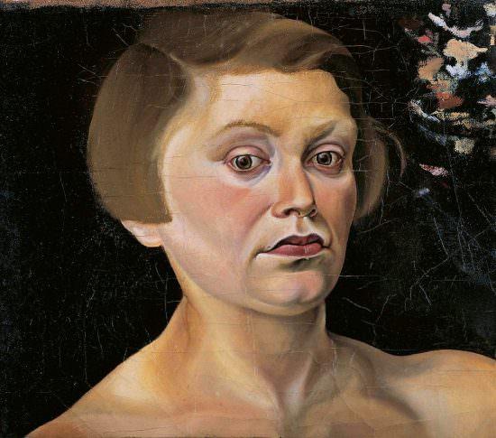 Elfriede Lohse-Wächtler,  Autoportret, fot. http://www.museen-boettcherstrasse.de/