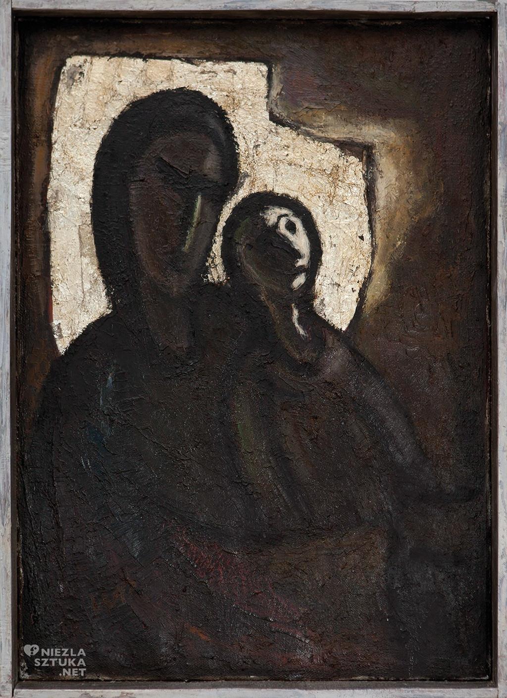 Władysław Paciak Madonna w świetle księżyca | 1962, Muzeum Sztuki Współczesnej w Radomiu