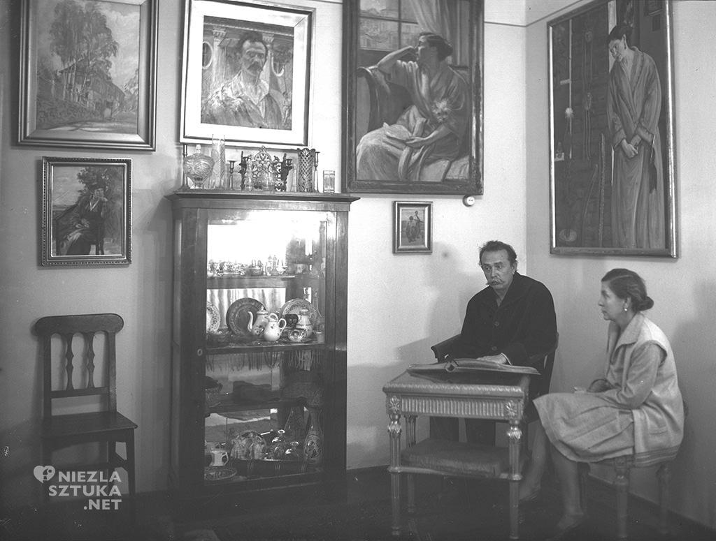 Wlastimil Hofman z żoną, NAC