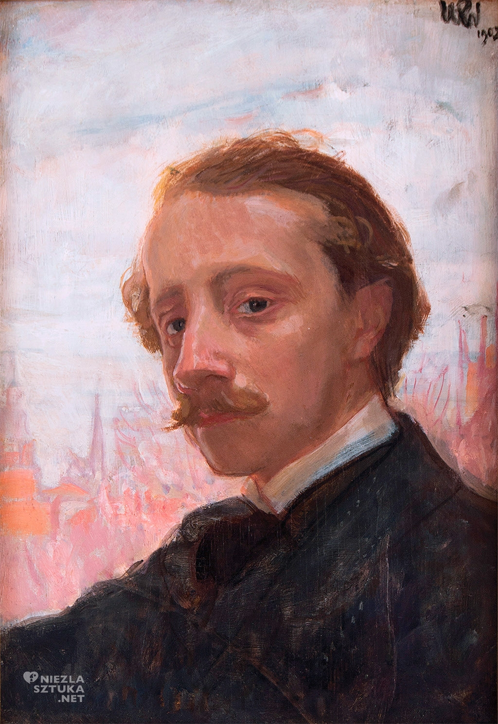 Wojciech Weiss Autoportret 1902,