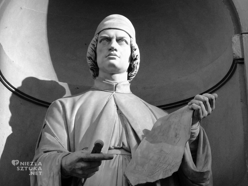 Pomnik Albertiego na Piazza degli Uffizi, Florencja