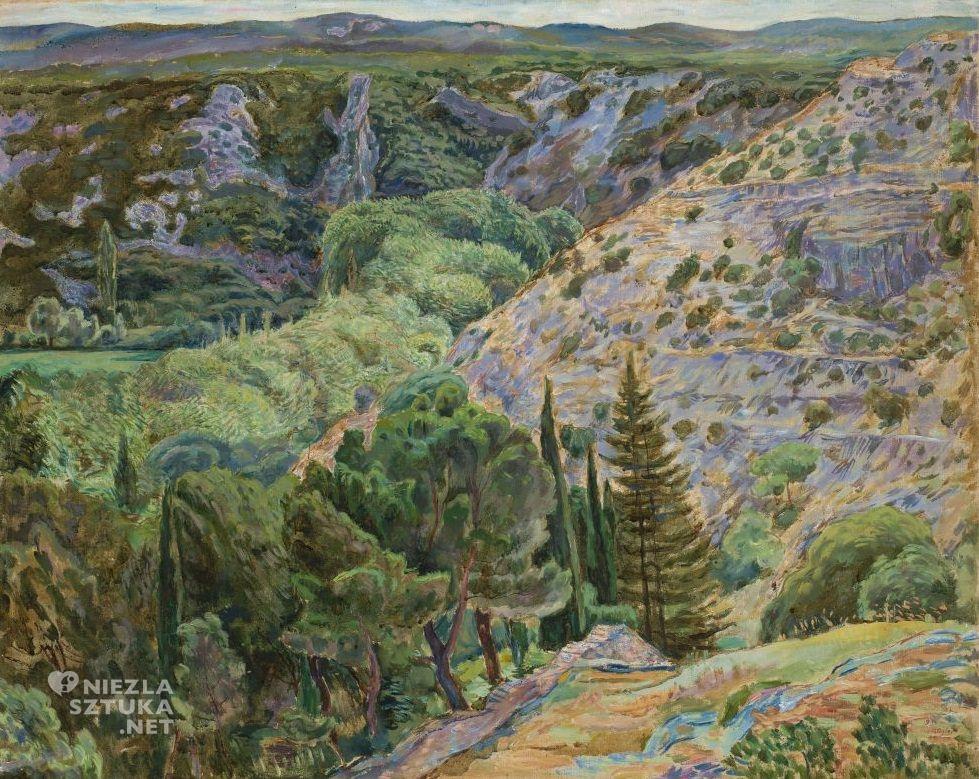 Zygmunt Waliszewski, Krajobraz z Angles | 1930, Muzeum Narodowe w Warszawie