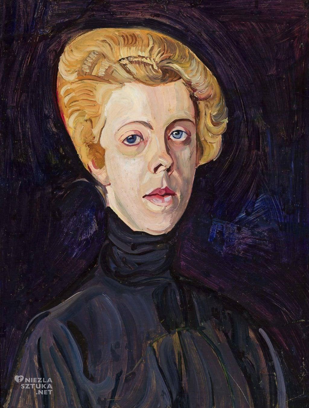 Zygmunt Waliszewski, Portret Pani T. | 1920, Muzeum Narodowe w Warszawie