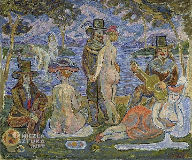 Zygmunt Waliszewski, Wyspa miłości | 1935, Muzeum Narodowe w Warszawie