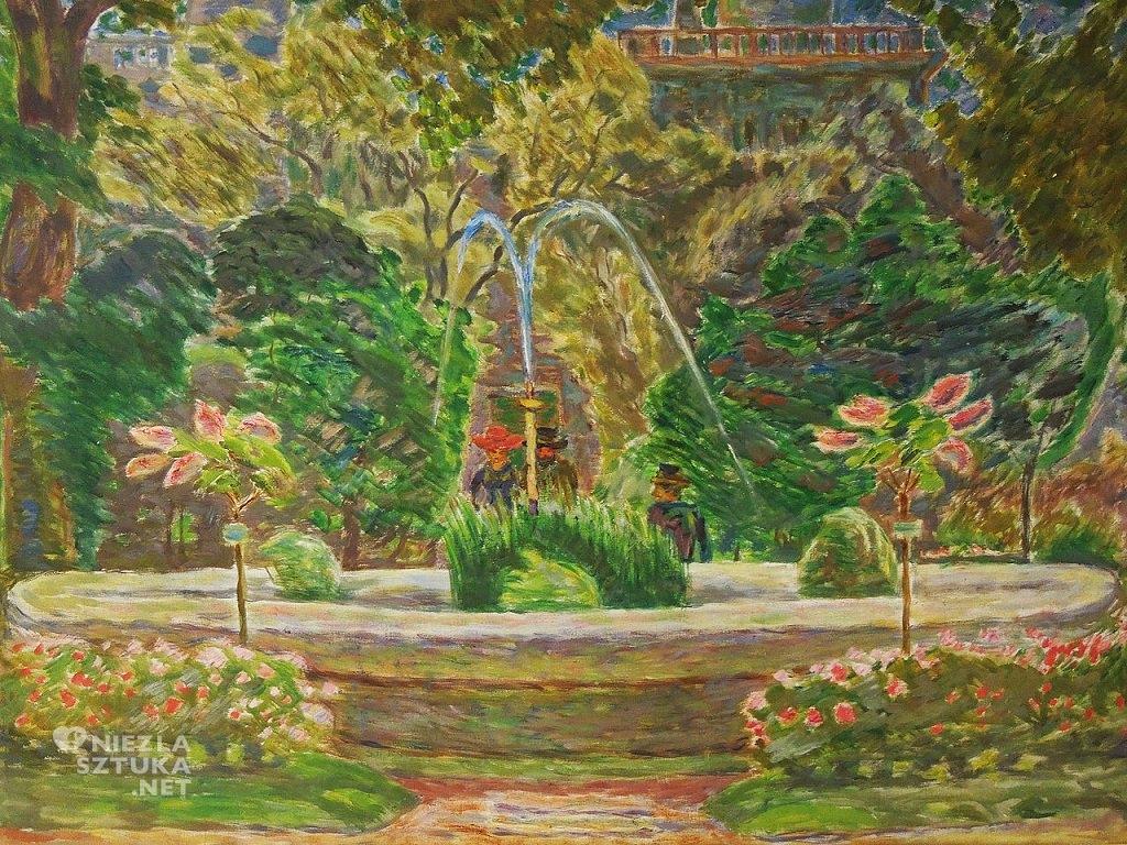 Zygmunt Waliszewski Ogród botaniczny w Warszawie | 1935, Muzeum Narodowe w Poznaniu