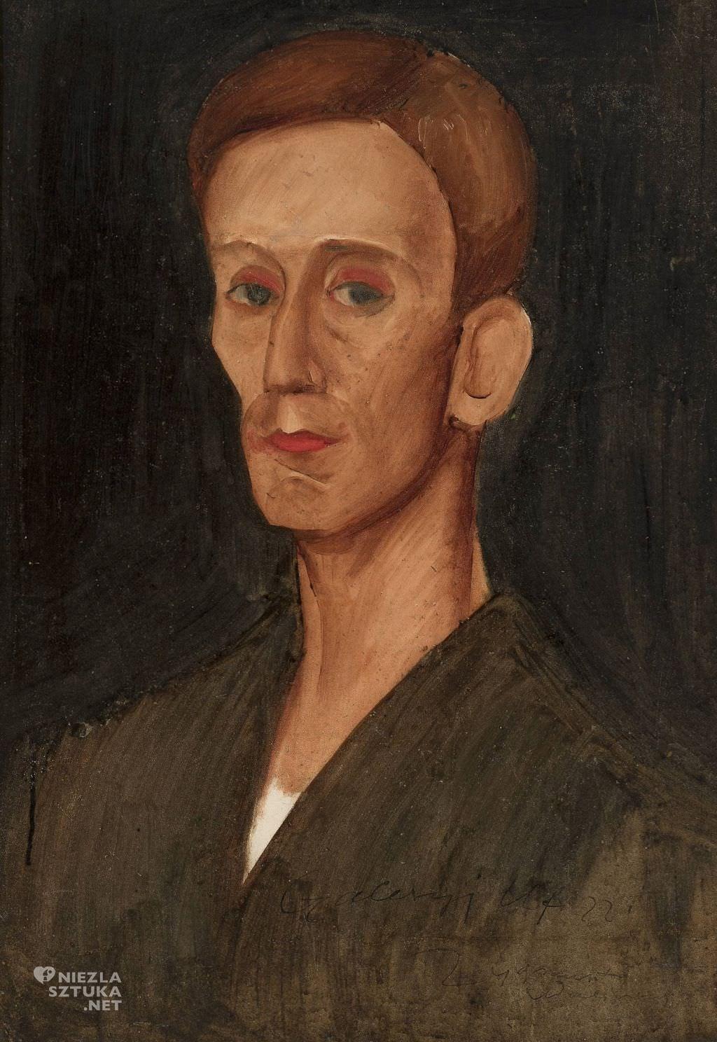 Zygmunt Waliszewski, Portret Józefa Czapskiego | ok. 1924, Muzeum Narodowe w Warszawie